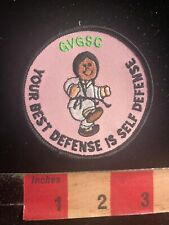 Gvgsc Best Defense Is Self Defense  00004000 Martial Arts Patch 01Rn