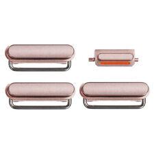 """Apple iPhone 6S 4.7"""" 4 in 1 Button Set Power Volume Mute Tasten Key Rose Gold"""