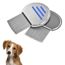 Lice Treatment Comb for Head Lice & Nit Lice Egg Removal, Stainless Steel Metal