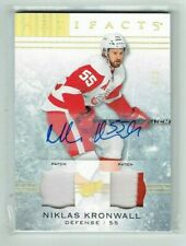 14-15 UD Upper Deck Artifacts  Niklas Kronwall  3/3  Auto  Dual Patches