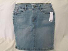 "Ladies ""Sonoma"" Size 12, Lt Wash(Blue), Jeans Style, Denim Skirt"