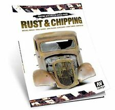 Vallejo Paints & Accessories #VLJ-75011 Rust And Chipping Techniques Book