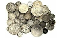 REAL U.S💰 90% SILVER LOT 🤑 PRE 1964 BAG MIXED OLD SURVIVAL MONEY COINS 🔥 SALE