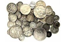 WHOA!! 💰 90% SILVER LOT 🤑 PRE 1964 BAG MIXED OLD SURVIVAL MONEY COINS 🔥 SALE