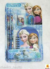 Frozen Stationery Set Pencils Eraser Sharpener Notebook birthday present party