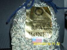 REAL MONEY SHREDDED IN BAG Smithsonian Institute  PAPER BILLS