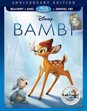 PRE ORDER: BAMBI (SIGNATURE COLLECTION) (Disney) - BLU RAY - Region free