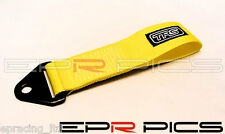 TRS Universal Tow Strap Yellow Colour for Toyota Chaser Supra Celica MR2 Corolla