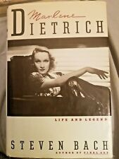 Marlene Dietrich : Life and Legend by Steven Bach (1992, Hardcover)