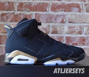 Nike Air Jordan 6 Retro DMP 2020 Black Metallic Gold CT4954-007 Size