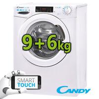 Waschtrockner Waschmaschine Trockner Candy by Hoover 9+6 kg EEK A 2in1 Dampf