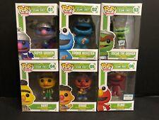 Funko Pop Sesame Street Vaulted Lot of 6