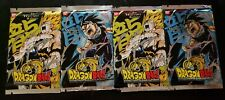 The Warriors Return: Booster Pack Lot (4) New Sealed Product - Dragon Ball CCG