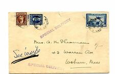 1941 Special Delivery to USA   cover Canada
