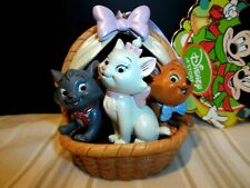 Disney Sketchbook Ornament The Aristocats Berlioz,Toulouse & Marie In Basket New