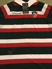 Signed Geordan Murphy Leicester Tigers Rugby Union Shirt Ireland Rugby