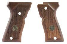 Beretta 92FS Compact Factory Original Wood Grips PB medallions
