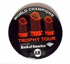 2014 San Francisco Giants Baseball World Series Trophy Madison Bumgarner Pin