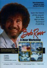 Bob Ross Malkursus 3 Hours Workshop Seasons Landscapes DVD