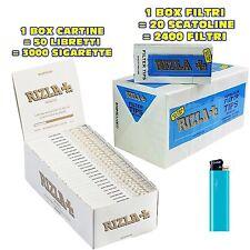 CARTINE Corte RIZLA Bianche 1 box + FILTRI RIZLA ULTRA SLIM 1 box