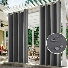 Waterproof Outdoor Curtains for Patio - Thermal Insulated, Sun Blocking Drapes