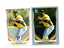 35 Count lot 2014 Bowman Chrome Top Prospects Josh Bell Rookie Cards Pirates OF