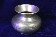 Holy Water Pot Old Vintage Antique Indian Brass Collectible Ps22