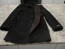 NEW Chaps WOOL Blend Men's Charcoal Long Dress Coat Size 38 Regular MSRP $250