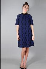 NUMPH size 12 Lardizabala Dress Blue Black New+tags