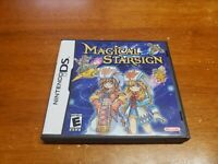 Magical Starsign (Nintendo DS, 2006) CIB Complete TESTED Fast Shipping