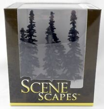 "5"" - 6 "" Conifer Trees (Pkg of 6) - Bachmann SceneScapes #32003"