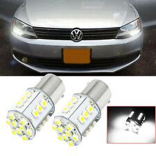 1156 24 Smd White Led Bulb Daytime Drl Lights For Volkswagen Jetta 2011 2017