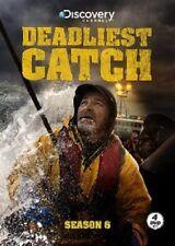 Deadliest Catch: Sixth Season 6 Six (DVD, 2010, 4-Disc Set) - NEW!!