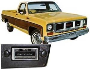 NEW USA-630 II* 300 watt '73-88 GMC Truck AM FM Stereo Radio iPod USB Aux ins