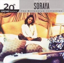 FREE US SHIP. on ANY 2 CDs! NEW CD Soraya: 20th Century Masters: Millennium Coll