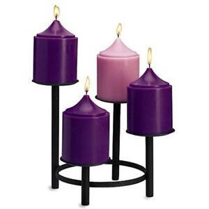 """6"""" Advent Pillar Candles Wax"""