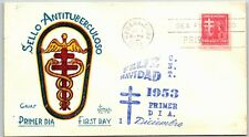 GP GOLDPATH: OTHER CARIBBEAN COUNTRY COVER 1953 FIRST DAY COVER _CV778_P03