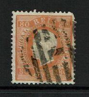 Portugal SC# 44e, Used, Few embossing tears, pulled corner perf - Lot 072317