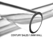 PYREX 7740 TUBING SIGHT GAUGE GLASS 5/8 16MM OD MEDIUM WALL - PRICE PER INCH
