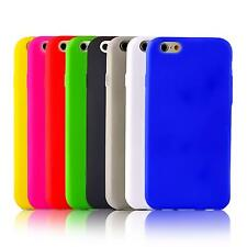 Handy Hülle Silikon iPhone SE 5 5S 5C 4 4S 3 S 3G Schutz Case Back Cover Bumper