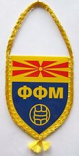 Football Federation of Macedonia Pennant Flag New