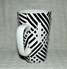 Starbucks Tall Black & White Zebra Stripe Print Mug Cup 16 oz 2014