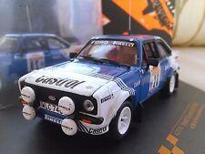 #28 1981 Ford Escort RS1800 Presotto Sanremo Rally Diecast Rally 1/43 Vitesse