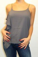 TOP ARMANI JEANS DONNA SWEATER ТОП WOMAN, S5001 ND GRIGIO MIS. L (44) AA 12 !