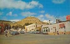 Raton New Mexico El Portal Hotel Goat Hill Vintage Postcard K36226