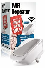 DEVOLO 9423 WIFI WIRELESS REPEATER RANGE EXTENDER WITH INTEGRATED ETHERNET PORT
