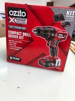 Ozito (like Einhell) Cordless 18v compact Driver Power X Change Brand New in box