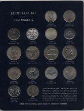 CIBO per tutti i soldi FAO 1,2 & 3 Collection *** Da collezione ***
