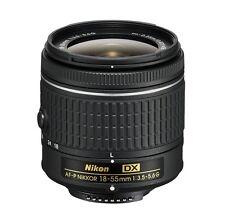 Nikon AF-P DX Nikkor 18-55mm f/3.5-5.6 G VR Lens 18-55 F3.5-5.6 ~ White Box NEW