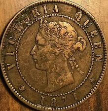 1871 PEI LARGE 1 CENT PENNY COIN